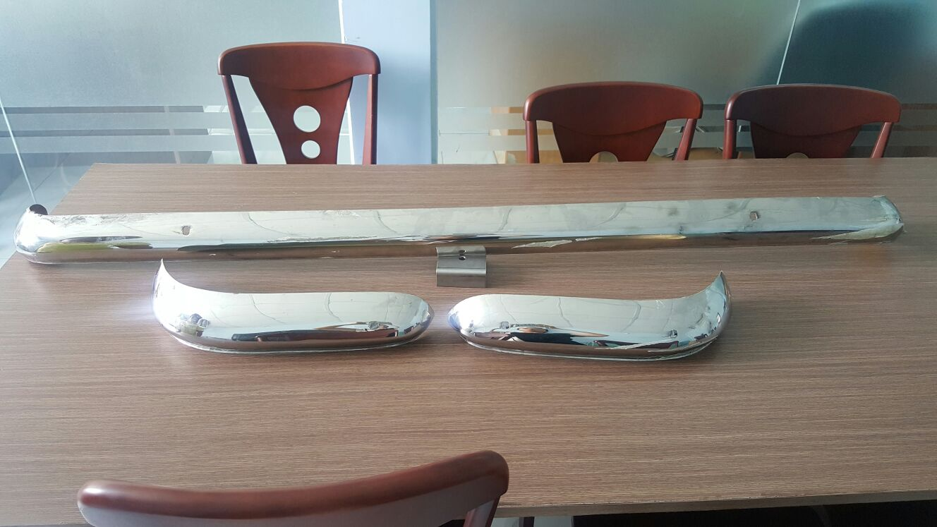 Ford Escort/ Cortina Stainless Steel Bumper