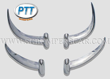 Jaguar E type for 1-1.5 series Stainless Steel Bumpers