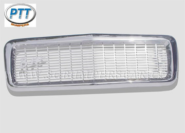 Radiator Grill for Volvo PV544 Stainless Steel Bumpers